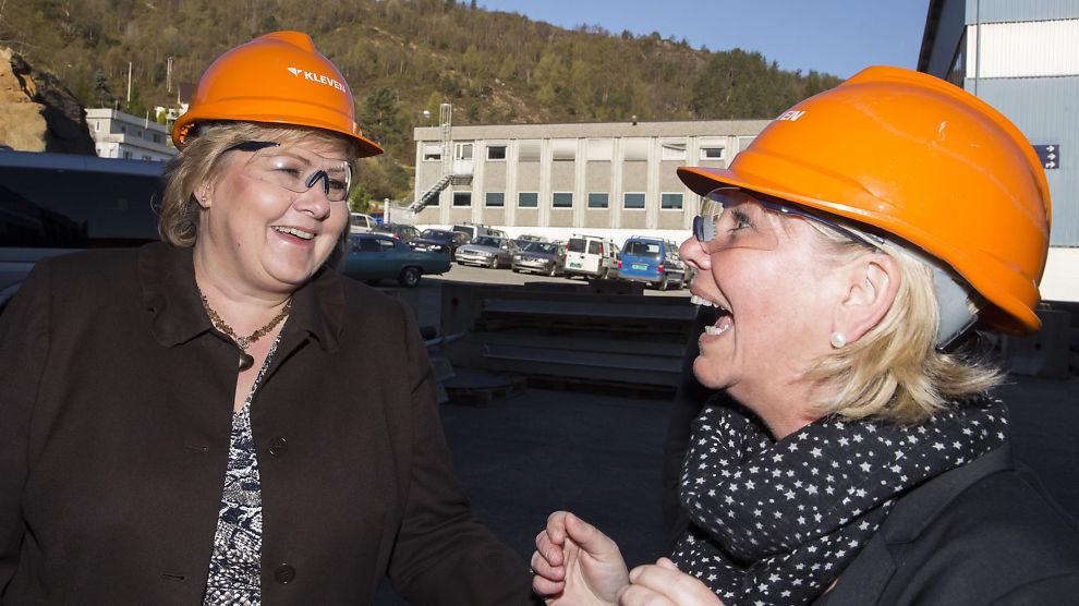 <b>ENDELIG VÅKNET:</b> Etter det som har vært en overraskende svak start, kan gründere i Norge nå se frem til litt dra hjelp fra statsminister Erna Solberg og næringsminister Monica Mæland, mener E24-spaltist.