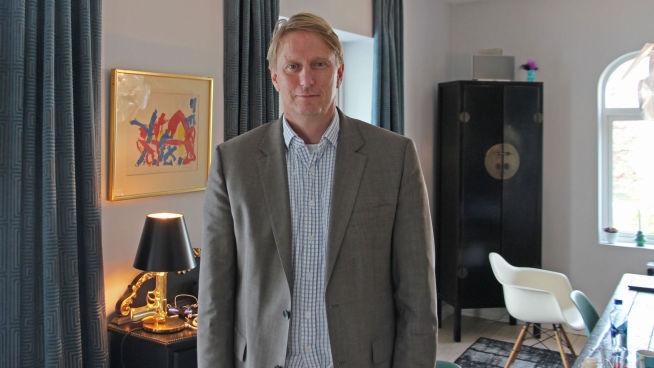 <p><b>SATSER:</b> Gisle Pedersen, sjef for Canal Digital (Kabel-TV), kniver nå med de rene fiberaktørene om hvem som kan levere raskest bredbånd hjemme.<br/></p>