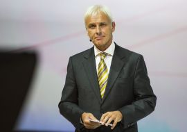 <p><b>SKAL RETTE OPP SKUTEN:</b> Den nye VW-sjefen Matthias Muller.<br/></p>
