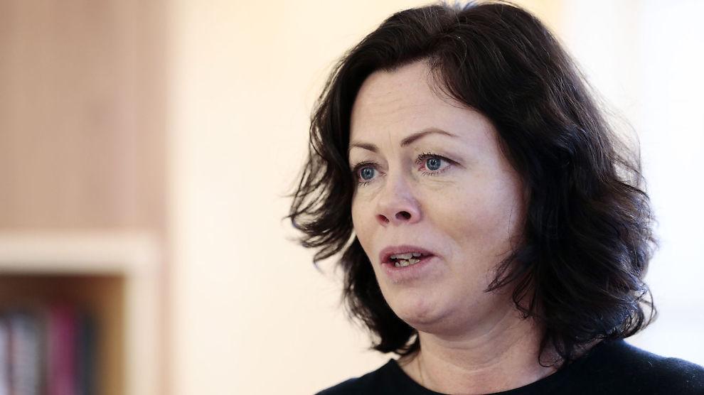 <p><b>SKAMMELIG?</b> Solveig Horne (Frp) kritiserte forrige regjering for at de ikke justerte barnetrygden. Nå er hun selv i en regjering som nedprioriterer barnas trygd.<br/></p>