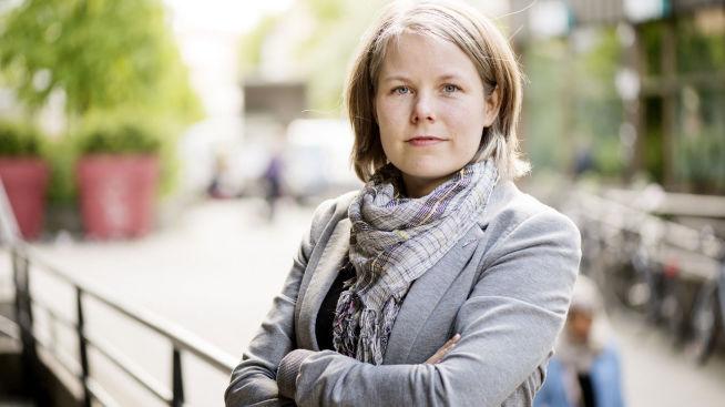 <p><b>SKUFFET:</b> Kirsti Bergstø (SV) er lei for at barnetrygden ikke er prioritert i statsbudsjettet. <b>–</b> Svikter de minste, mener Bergstø.<br/></p>