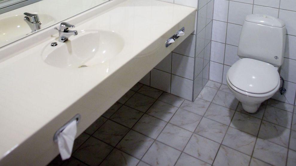 Rennende toalett