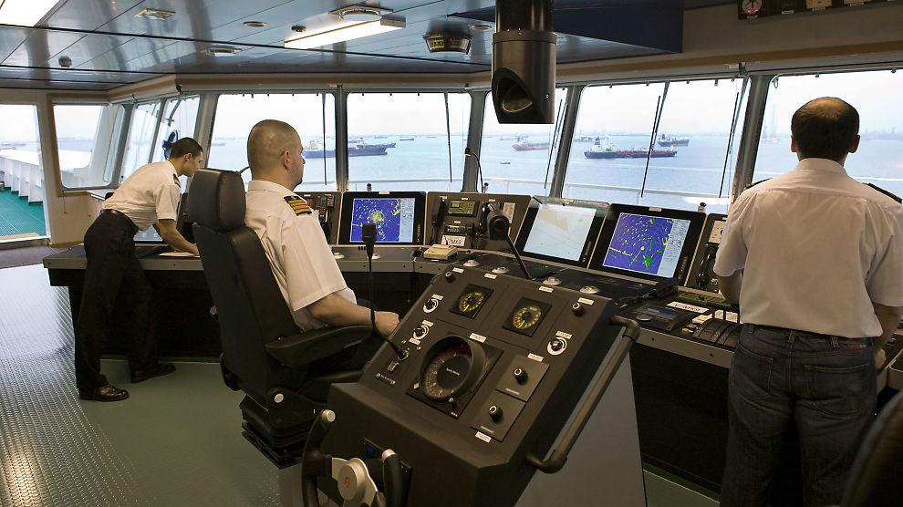 <p><b>KUTTER:</b> Kongsberg Maritime må nå ta grep for å håndtere oljenedturen. Selskapet leverer en rekke systemer til olje- og offshorenæringen, som dette K-Bridge-systemet.<br/></p>