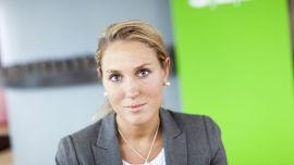 <p>Sjefstrateg Erica Blomgren i Seb</p>