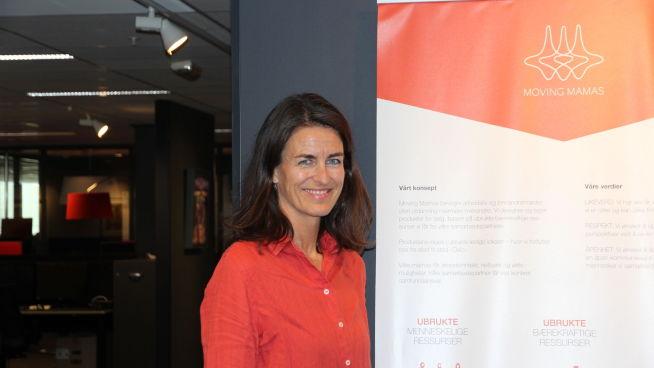 <p><b>FIKK EN IDÉ:</b> Moving Mamas-gründer Kirstine Holst Jansen</p>