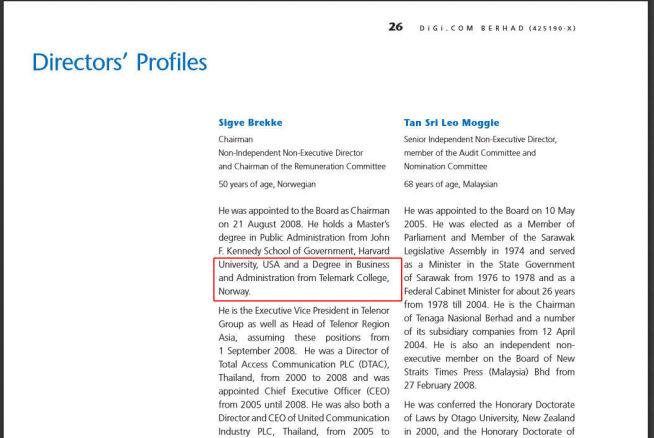 <p>Faksimile fra Digis årsrapport for 2009.<br/></p>