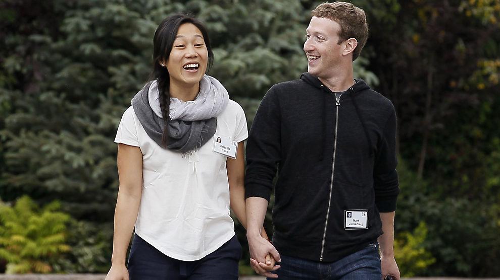<p><b>VENTER BARN:</b> Facebook-sjef Mark Zuckerberg og hans kone Priscilla Chan har holdt følge siden 2003, og giftet seg i 2012. Nå venter paret sitt første barn.<br/></p>
