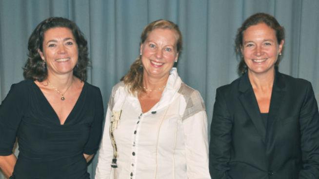 <p><b>HØRTE INGENTING:</b> Kristin Skogen Lund, Berit Svendsen og Hilde Tonne sammen på et bilde fra 2011.</p>