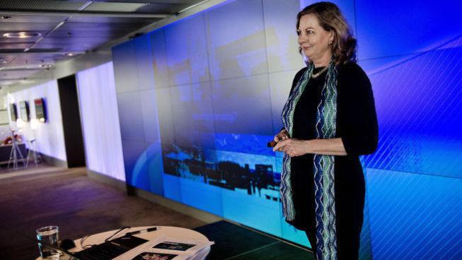 <p><b>DEMPET FORVENTNINGENE:</b> Berit Svendsen.</p>