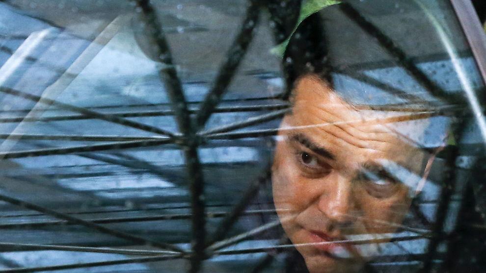 <p><b>KONTINUERLIGE FORHANDLINGER:</b> Den greske statsministeren Alexis Tsipras ankommer et av mange EU-toppmøter i Brüssel i høst.</p>