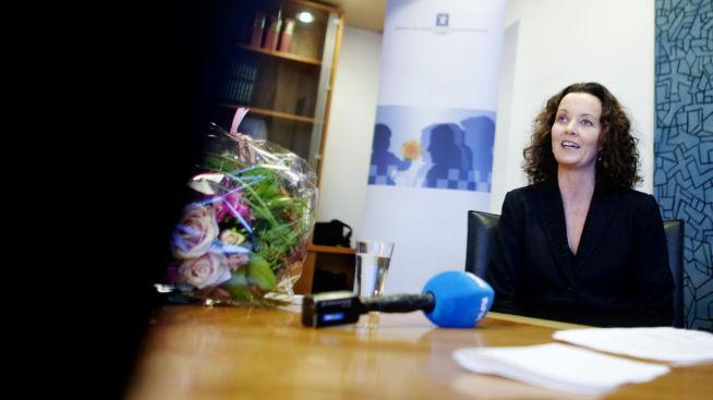 <p><b>OPPGITT:</b> Likestillings- og diskrimineringsombud Sunniva Ørstavik sier hun er lei av å høre at de ikke finnes nok gode kvinnelige toppledere.<br/></p>
