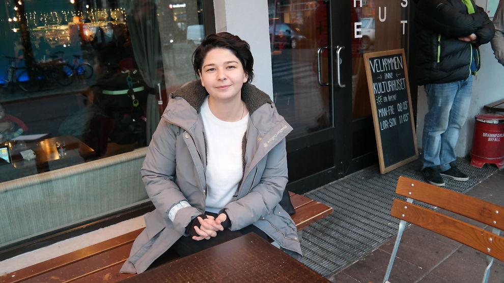 <p><b>VIL HJELPE:</b> Maria Amelie (30) er i planleggingsfasen av et gründerkurs for flyktninger.<br/></p>