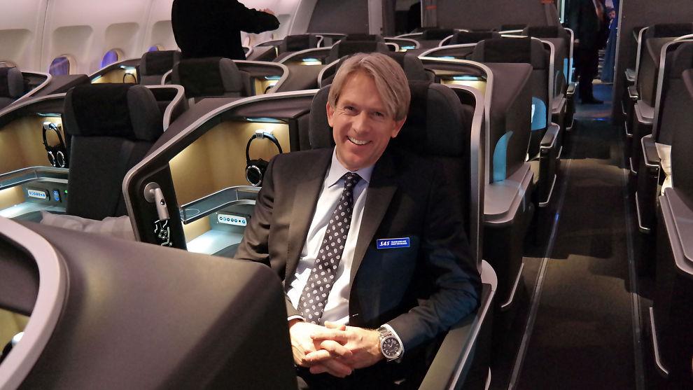 <p><b>– FORVENTER ØKT PRISPRESS:</b> Konserndirektør Eivind Roald i SAS sier at selskapet forventer økt kapasitet i det europeiske flymarkedet i 2016, noe man ikke så i 2015, og at prispresset dermed vil bli tøffere.</p>