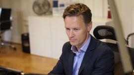 <p>Sjeføkonom Bjørn Roger Wilhelmsen i Nordkinn Asset Management</p>