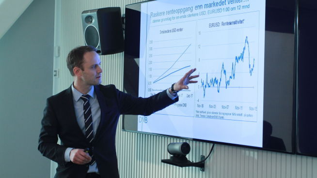 Valutastrateg Magne Østnor i DNB Markets