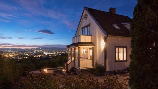 <p><b>FIN UTSIKT:</b> Utbyggeren som endte opp med å vinne budrunden på Høyenhall får med seg en fin utsikt over Oslo.</p>