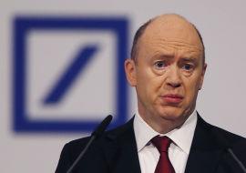 <p><b>PRESSET:</b> Deutsche Bank-sjef John Cryan.</p>