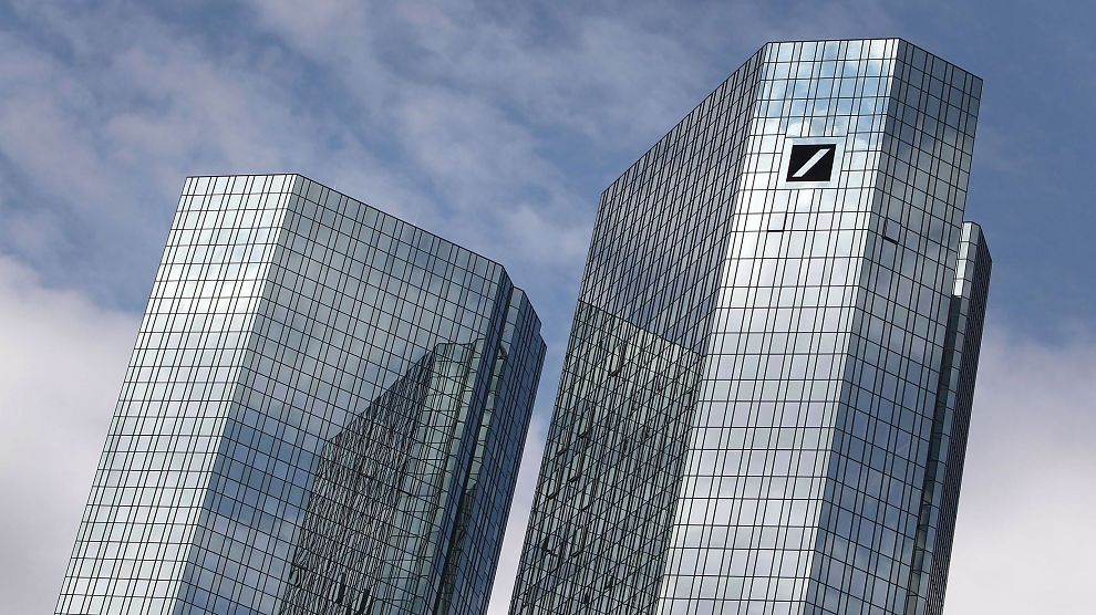 <p><b>MILLIARDERSTATNING:</b> Deutsche Bank må betale 7,2 milliarder for rollen banken spilte før finanskrisen. Markedet reagerer imidlertid positivt på gigantbeløpet.</p>
