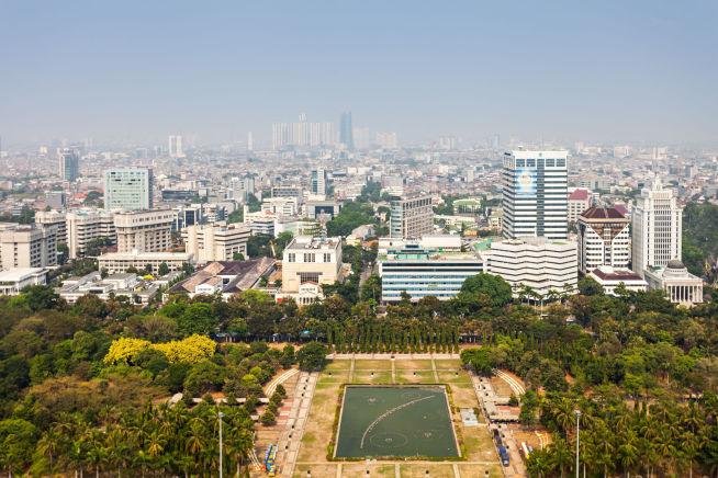 <p><b>GIGANT:</b> Indonesia har hele 250 millioner innbyggere. Her fra hovedstaden Jakarta.</p>