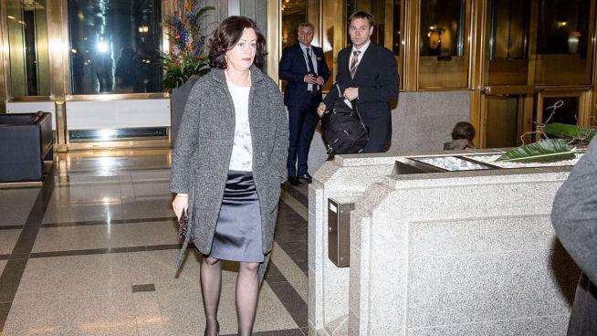 <p><b>STATSRÅD:</b> Solveig Horne (Frp), barne- og likestillingsminister, var til stede.</p>
