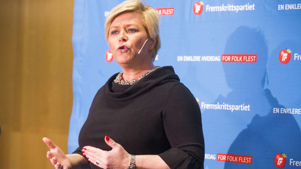 <p><b>SIER NEI:</b> Finansminister Siv Jensen ga klar beskjed om at hun ikke så for seg at regjeringen kunne støtte ekspertutvalgets anbefaling om endring av merverdiavgiften.</p>