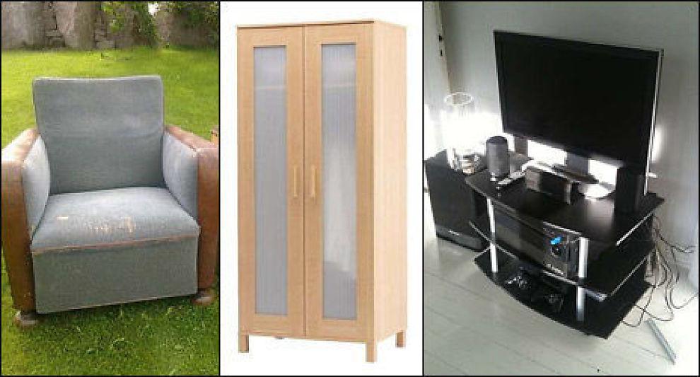 Strålende Her får du gratis møbler - Forbrukerrettigheter - Privat - E24 NF-97
