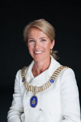 <p>Ordfører i Stavanger, Christine Sagen Helgø. Foto: CHRISTIAN KVERNELAND</p>