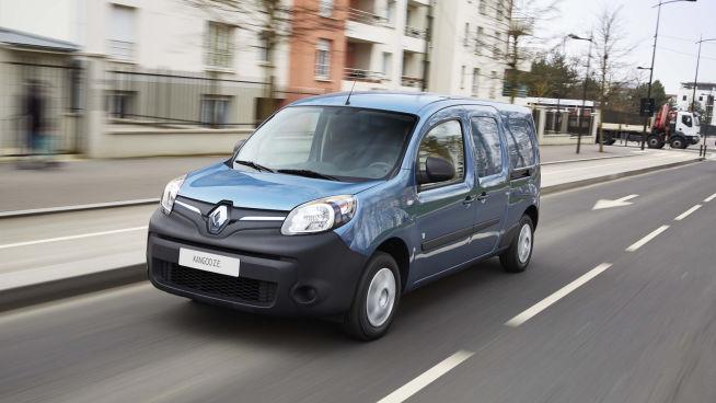 <p><b>VERDIG FOR ORDNINGEN:</b>Renaults Kangoo ZE er 100 prosent elektrisk.</p>