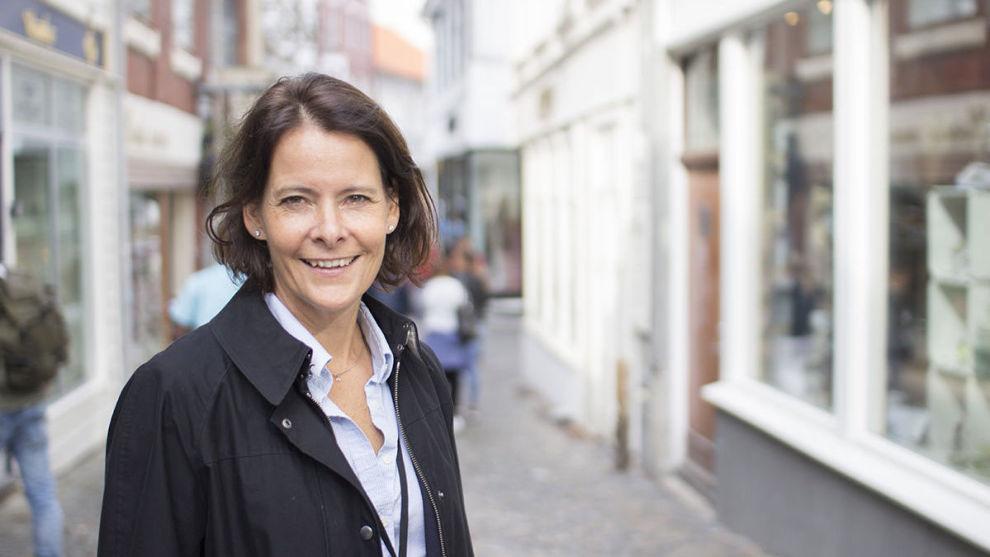 LEVER DRØMMEN: For Alexandra Morris er det ingen jobber innen fondsforvaltning som er mer spennende enn den hun har nå, som investeringsdirektør i SKAGEN. Foto: SKAGEN
