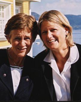 Børrea Schau-Larsen og Pernille Schau-Larsen er 3. og 4. generasjon eiere av Solstrand Hotel & Bad.