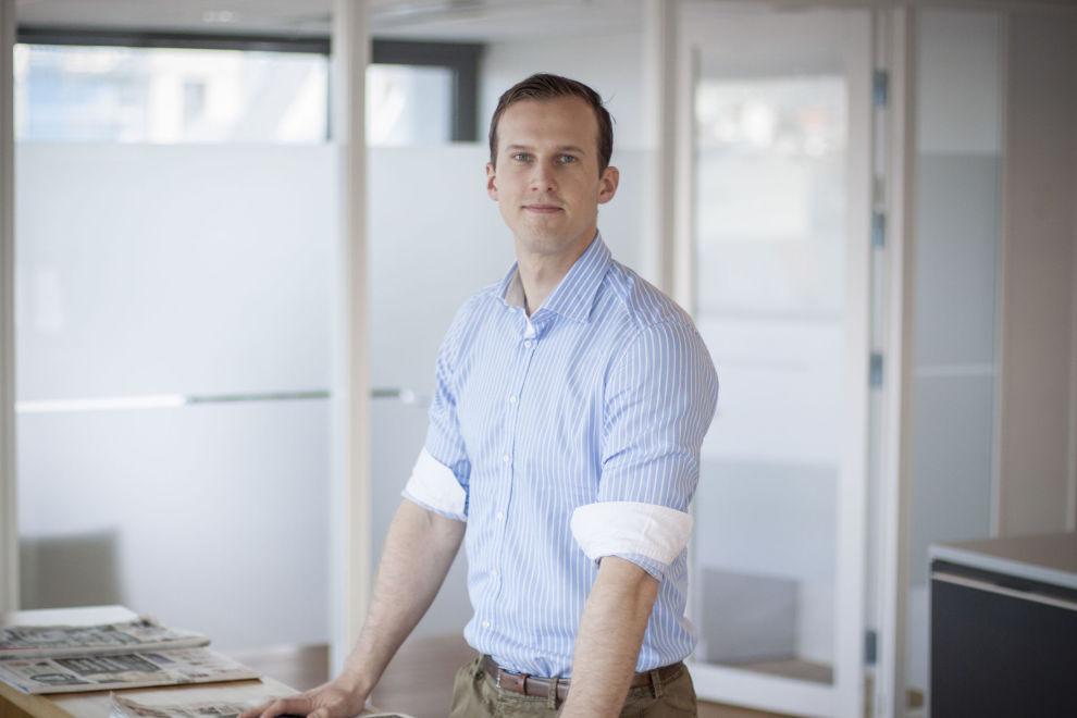 <p>Nicolai Huuse er rådgiver i SKAGEN fondene, og en av dem som vil sparepengene dine vel.</p> <p>FOTO: SKAGEN fondene</p>