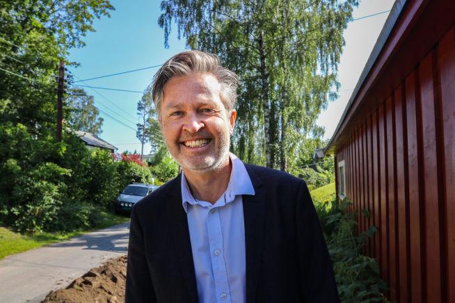 Morten Hjallum, kundeansvarlig i Geodata. Foto: Brand Studio