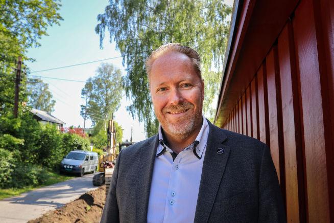 Stian Berg, direktør for utbygging og nettverk i Viken Fiber. Foto: Brand Studio