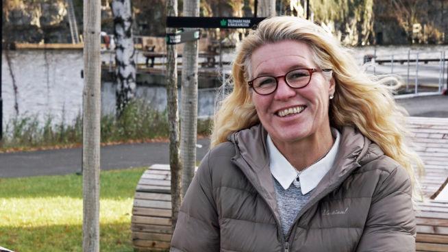 <p>Irene Siljan Vestby er klyngeleder for industriklyngen, Industrial Green Tech. Et nettverk av rundt 100 industribedrifter i Grenland og Telemark som jobber for en grønnere industri.</p> <p>FOTO:Siri Krohn-Fagervoll</p>