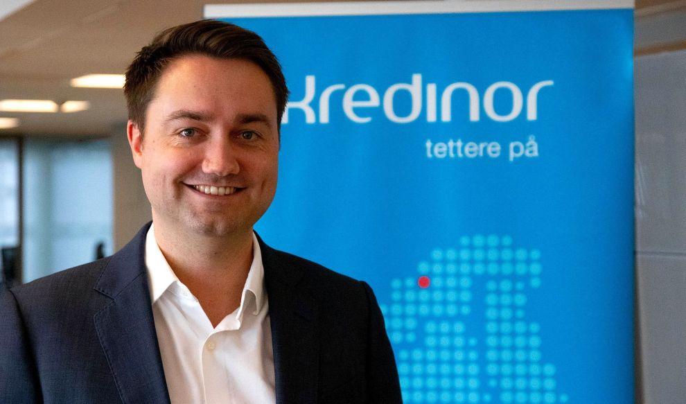Audun Rønningen Danielsen er kommersiell direktør i Kredinor